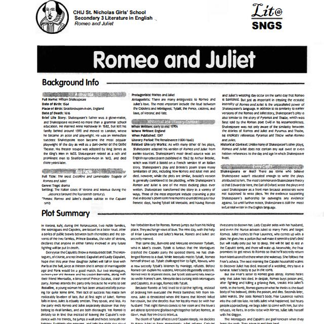 romeo and juliet o level quotes Romeo and juliet study guide mercutio portrays a level of intensity that romeo next section act 2 summary and analysis previous section quotes and.