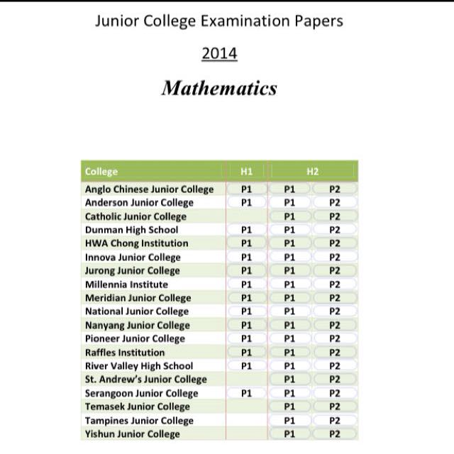 anglo chinese junior college jc2 preliminary examination H2 math 9758 promotional examination anglo-chinese junior college mathematics department innova junior college h2 mathematics jc2 preliminary examinations paper 1 solutions 1 solution let $ x, $ y and $ z be the cost of a ticket for a senior.