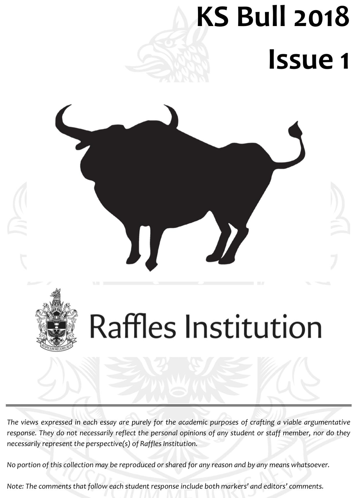 ks bull essays for scholarships