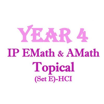 HCI Y4 math topical cover